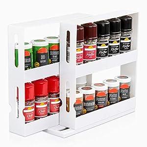 Gewürzregal Ausziehbar Küchenschrank – Dein Haushalts Shop