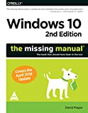 #7: Windows 10 : The Missing Manual, Second Edition