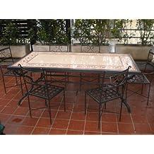 Tavolo ferro battuto giardino - Tavolo giardino ferro battuto ...