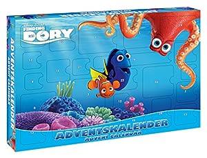 CRAZE 53974-Calendario de Adviento de Disney Pixar Buscando a Dory, Surtido