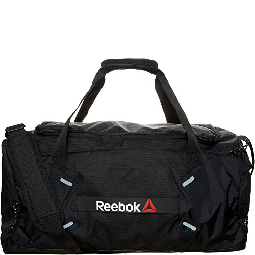 Reebok borsa sportiva One Series Medium 48L Grip, Unisex, One Series Medium 48L Grip, nero, Taglia unica