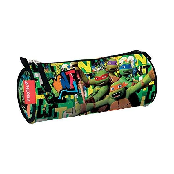 Perona 53967 Tortugas Ninja Estuches, 22 cm, Multicolor