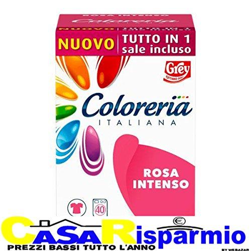 Grey coloreria italiana rosa intenso tutto in 1 - rosa intenso - sale incluso 350 gr