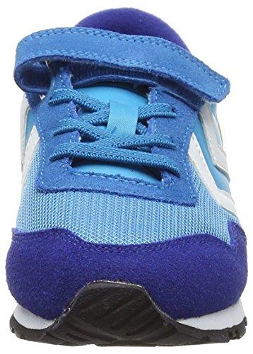 Hummel - Reflex Jr, Scarpe da ginnastica Unisex – Bambini Blau (Methyl Blue 7672)