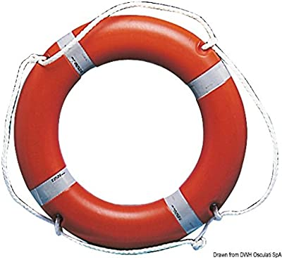 Anulare 40 x 64 cm arancio English: Ring lifebuoy 40x64cm orange