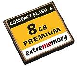 Extrememory CompactFlash Speicherkarte 8GB Premium