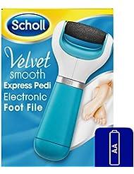 Scholl Velvet Smooth - Râpe électrique aux cristaux marins