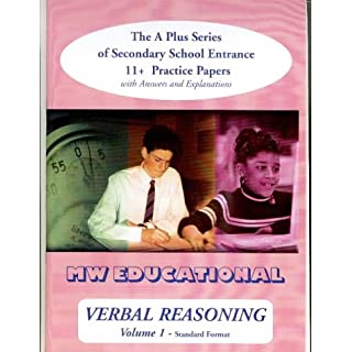 Verbal Reasoning: with Answers v. 1: The A-plus Series of Secondary School Entrance 11+ Practice Papers