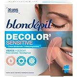 Blondepil Decolor'Sensitive Crème Décolorante pour Visage 2 X 25 ml