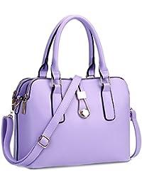 TOOGOO(R) Fashion Business Women Messenger Bags High Quality Office Bag Double Zipper Crossbody Bag PU Leather...
