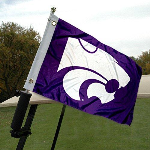 Kansas State University Golf Cart und Boot Flagge Kansas State University