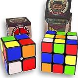 THE CUBIDIDU SET 3x3 UND 2X2 - Magic Cube - Er lässt sich schneller und präziser drehen als das Original / der klassische Zauberwürfel! - Speedcube pack 3x3x3 2x2x2