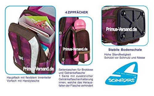 Olivia the Owl Eule Schulranzen Set TOOLBAG SOFT Schneiders u. passende Federtasche hochwertige Sporttasche Set 12 tlg. – 78405-051 - 4
