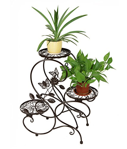 hlc-bronze-porte-pot-pots-de-plante-fleurs-3-etagere-support-jardin-en-metal-fer