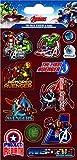 Papier projets Marvel Avengers déjoué Sticker