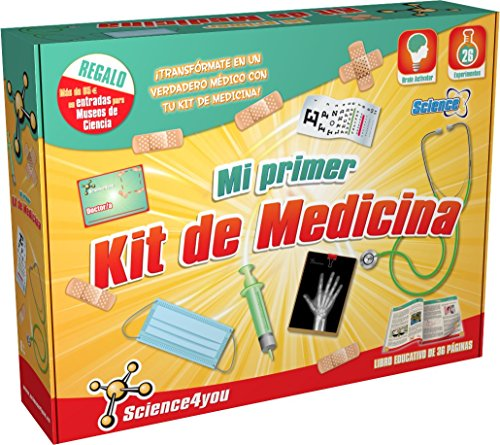 Science4you Mi primer kit de medicina- Juguete científico y educativo