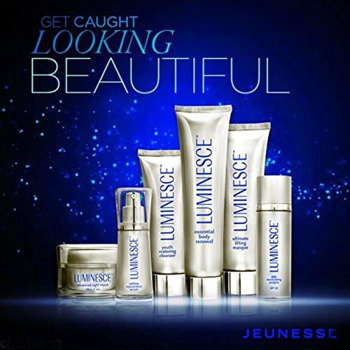 Jeunesse Luminesce Anti-Aging Hautpflegeset, Serum, Moisturizer, Repair, Cleanser, Masque, Renewal,...