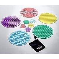 TickiT 54517 SiliShapes Sensory Circle Set