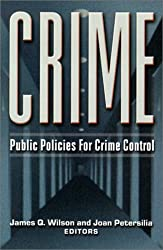 Crime: Public Policies for Crime Control
