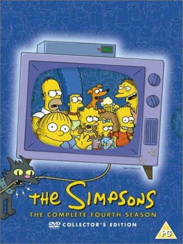 Les Simpson : L'intégrale Saison 4 - Import Zone 2 UK (anglais uniquement) [Import anglais]