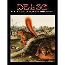 J.J. & J.W. Audubon - Fox, Squirrel & Rabbit Illustrations (English Edition)