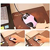 Koolertron 2.4GHz Wireless Optical Panda Computer Mouse for Children Present Compatible with Windows/2000/2003/XP/Vista/Win7/Linux/Android(2.1, 2.2, 2.3, 4.0)/Mac (Pink&Black)