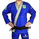 4Leaf Clover Luck Kimono Jiu Jitsu Herren Bjj Gi Blau