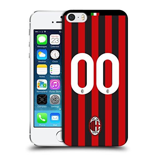 Head case designs personalizzata personale ac milan in casa 2017/18 kit cover retro rigida per iphone 5 iphone 5s iphone se