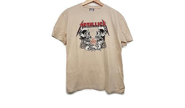 Metallica /'Birth School/' Bone T-Shirt Amplified Clothing NEW /& OFFICIAL!