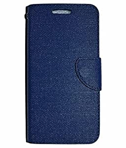 SMART CASE FLIP COVER FOR INFOCUS M535 BLUE