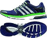 Adidas Adistar Boost M Esm - midind/ftwwht/flagrn, Größe Adidas:13.5