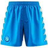 SSC Napoli Blaue Fußballshorts, blau, xxl