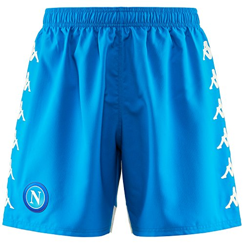 SSC Napoli Blaue Fußballshorts, blau, xxxl