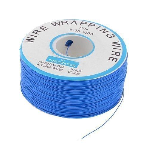 PCB con anima in rame cavo Jumper singolo conduttore bobina 24999,7 cm colore blu - Copper Wire Bobine