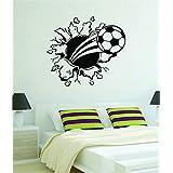 Balón de fútbol de la pared vinilo adhesivo adhesivo decorativo Sport Boy chica Teen Baby Copa Mundial de la FIFA