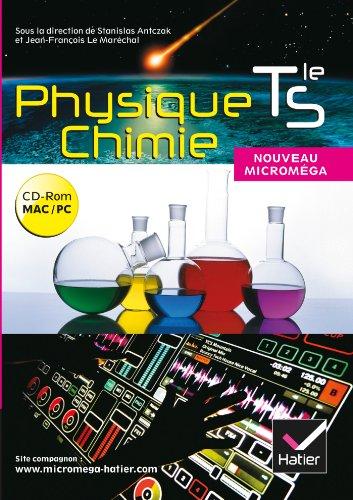 Micromega Physique-Chimie Tle S éd. 2012 - CD-ROM classe par Stanislas Antczak, Jean-François Le Marechal