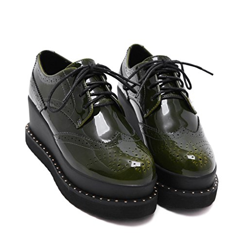 XTIAN , chaussons d'intérieur femme Vert
