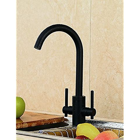 WZL-Art Deco/Retro Rubinetto da cucina Cascata / Doccia a pioggia / Sensore Nichel lucido