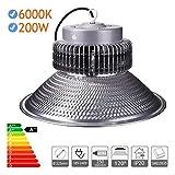 Jandei - Cappa LED industriale a luce bianca da 6000 K