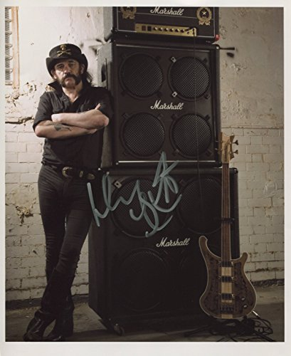 New, Numbered   Certificate Lemmy (Motorhead) SIGNED Photo 1st Generation PRINT Ltd 150   Certificate (4)