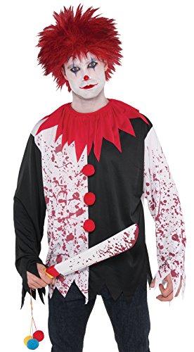 öse Killer Clown Perücke (Böse Clown Perücke)