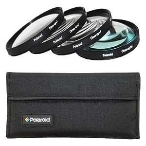 Polaroid Optics 40.5mm 4 Piece Close Up Filter Set (+1, +2, +4, +10)