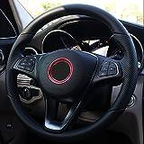Auto volante Anillo circular cubierta interior para Mercedes-Benz Clase A B E S CLA GLE GLK GLA W176W246