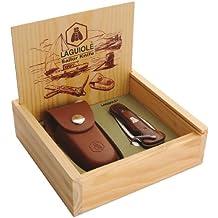 LAGUIOLE Segler-Taschenmesser mit Marlspieker + Schäkelöffner
