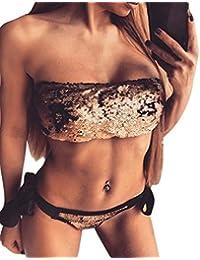 Yacun Femmes En Maillot De Bain En Bref Triangle De Bikini violet M Footlocker Jeu Finishline Livraison Gratuite À Faible Expédition Amazone À Vendre n8F4bP