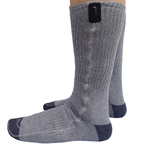 Beheizter Ski-socken (Elektrische Beheizte Socken/USB Beheizte Socken - Für Den Wintersport Im Freien Camping, Wandern Und Ski Unisex)