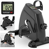 Kinetic Sports Mini Bike Pedaltrainer Heimtrainer Arm- und Beintrainer Bewegungstrainer mit Trainingscomputer - preisvergleich