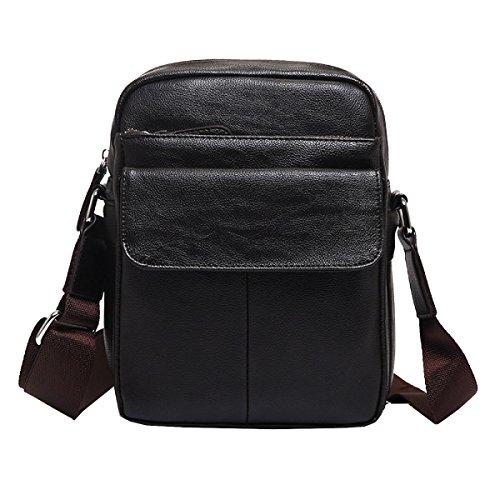 434905759fc25 Yy.f Herrenmode Business-Tasche Herren Ledertasche Dünn Klassisch Praktische  Office Bag Computer Tasche