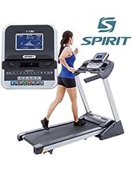 Spirit Treadmill XT 185 - Cinta de andar con 2,75 CV, 1-16 km/h, inclinación 0-10 level, 7,5`` LCD, plegable