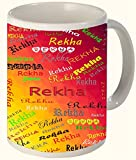 Rekha (Line) Printed All over Personaliz...